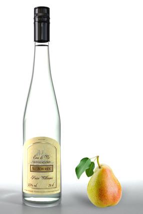 Eau de vie poire williams bouteille d 39 alcool de poire for Alcool de poire maison